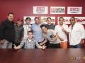 Midnight Red at 94.1 KTFM Studios