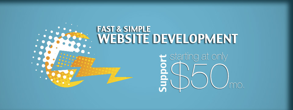 Fast Website Development