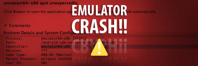 Android Emulator Crash With Two Monitor Development Environment