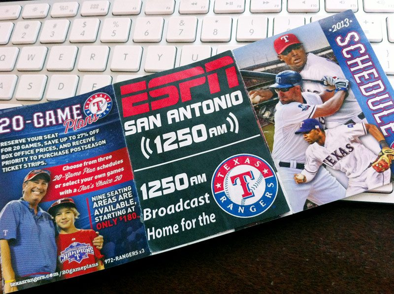 ESPN Pocket Schedule