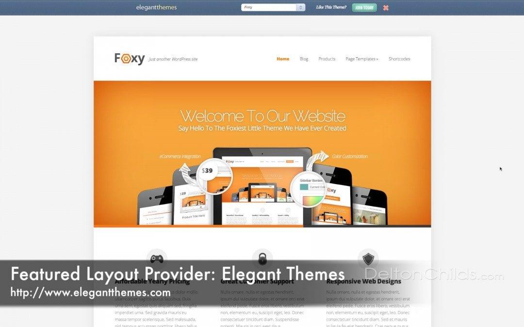 Choosing A Website Layout