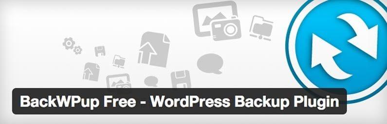 Back WP Up WordPress Back-up Plugin