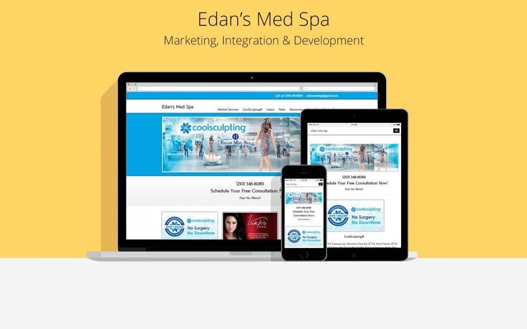 Edan's Med Spa Custom Website Development